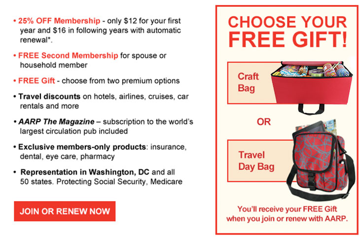 Since , the AARP has helped millions of elderly reach full independence and save big on all important aspects of their lives. The AARP is a membership-based organization, but you can save on your membership costs with AARP online coupons. Check out some of the great benefits the AARP offers to its members.